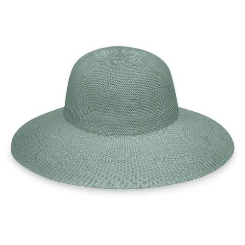 Wallaroo Hat Company Women's Victoria Straw Hat (Seafoam / One Size)