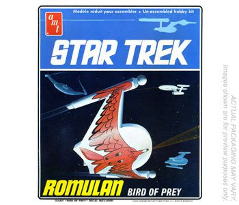 Round 2 AMT - Star Trek Romulan Bird-of-Prey