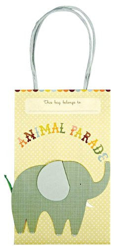 "Animal Parade Party Bag - 8 pcs - 8"" x 5"" x 3"""