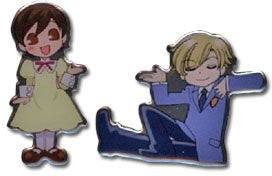 Ouran High School Host Club Twins Pin Set