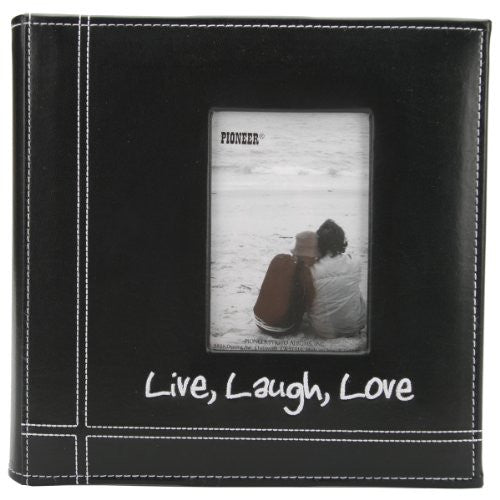 Embroidered Live, Laugh, Love Frame Album