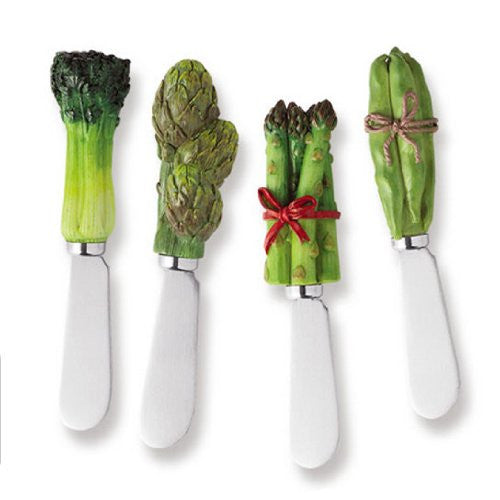 Veggie Spreaders, set of 4