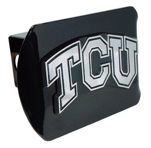"Texas Christian (""TCU"") Black Hitch Cover"