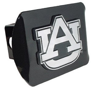 Auburn Black Hitch Cover
