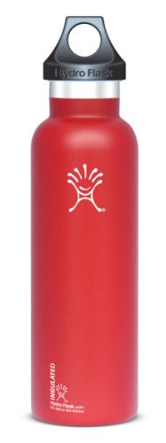 Flask Standard Mouth - 21 oz. - Lychee Red
