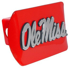 "Mississippi ""Ole Miss"" Red Hitch Cover"