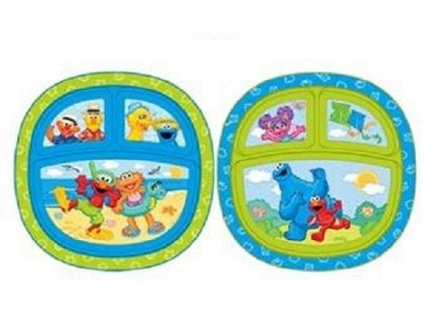 Munchkin Sesame Street Toddler Plate (Item Package Quantity: 1)