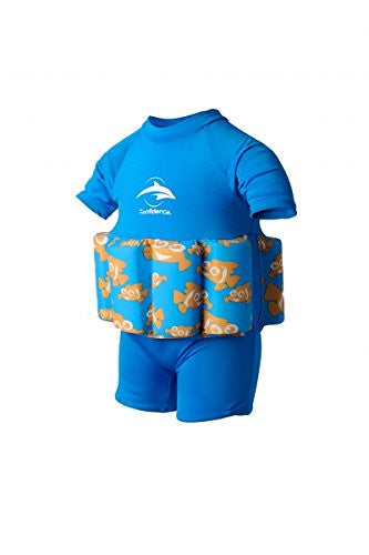 Floatsuits - 2-3 years Blue Clownfish