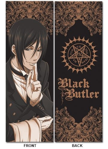 Black Butler Sebastian Body Pillow