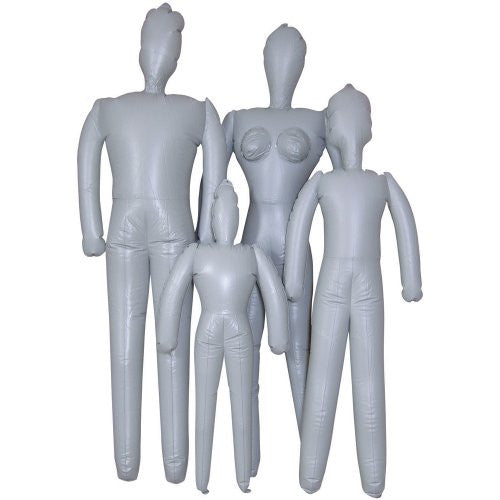 "Female Inflatable Mannequin 5'6"" Tall"