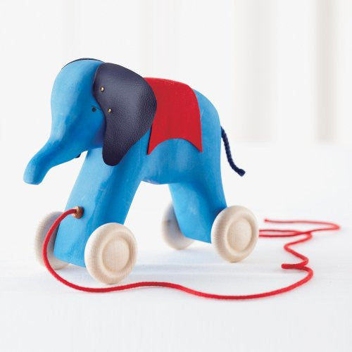Elephant to Pull Along, blue