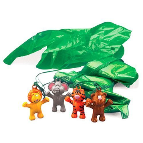 Zoo Animal Paratroopers - 48Pcs