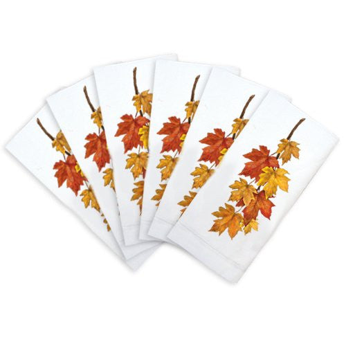 Maple Leaves Napkin Bundle (6-pc)
