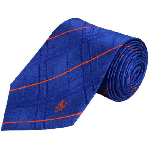 New York Mets Tie Oxford Woven Silk