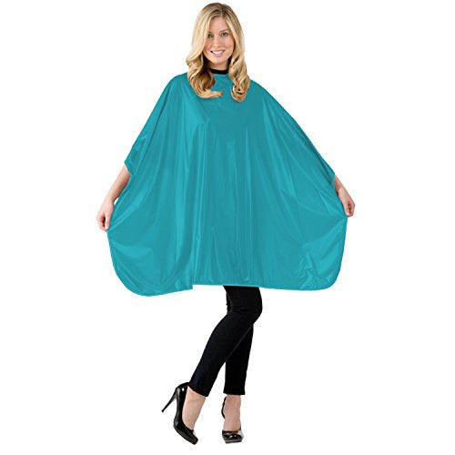 Solid Shampoo Cape Velcro, Teal