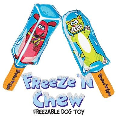 Fat Cat Freeze 'N Chew Freezable Dog Toy (styles vary)
