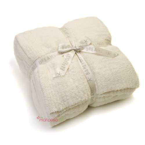 CozyChic Twin Blanket Cream 66x85
