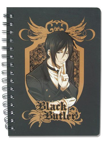 Black Butler Sebastian Notebook