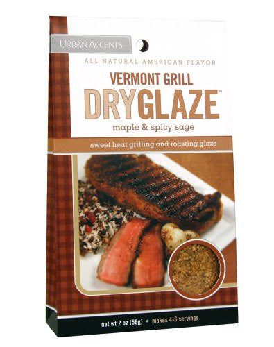 Urban Accents Seasoning, Vermont Grill Dryglaze 2oz