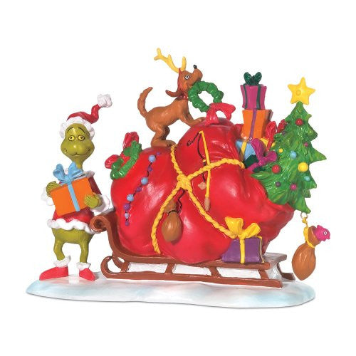 Department 56 Grinch's Small Heart Grew Three Sizes That Day