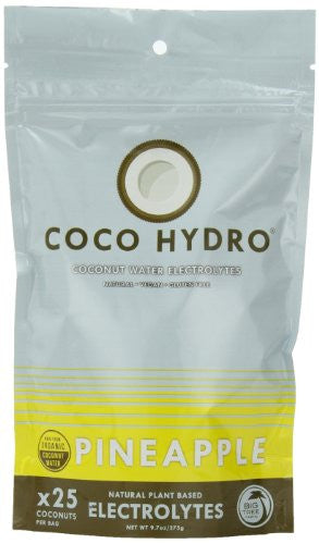 COCOHYDRO Instant Coconut Water Pineapple 6/9.7 OZ