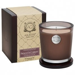 French Oak Currant 11 oz. Candle w/ Lid in Gift Box