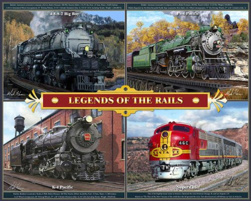 LEGENDS OF THE RAILS PUZZLE