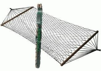 Nylon Hammock with Spread Bars