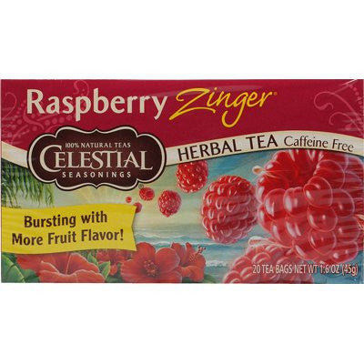 CELESTIAL SEASONINGS Teas Raspberry Zinger 6/20 BAG