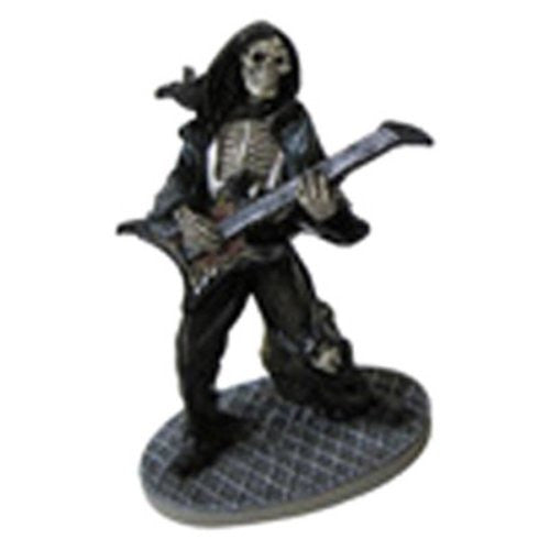 Resin Rock Star Skeleton Guitarist / Medium