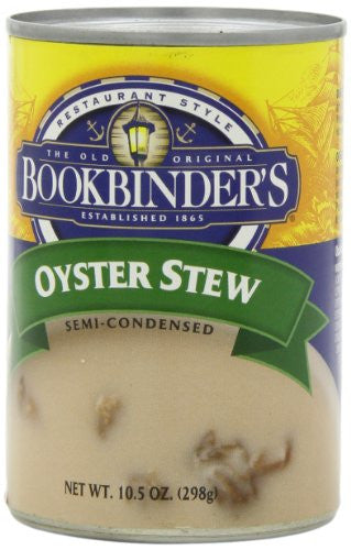 Bookbinders Oyster Stew 10.5 OZ