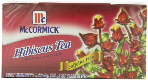 MCCORMICK Tea Hibiscus 6/25 BAG