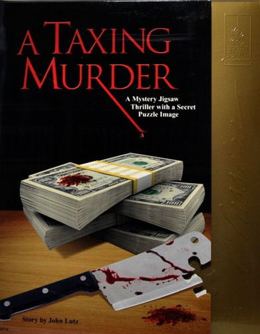 A Taxing Murder Classic Mystery Jigsaw