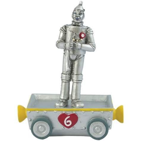 Tin Man Birthday Train No. 6 Figurine