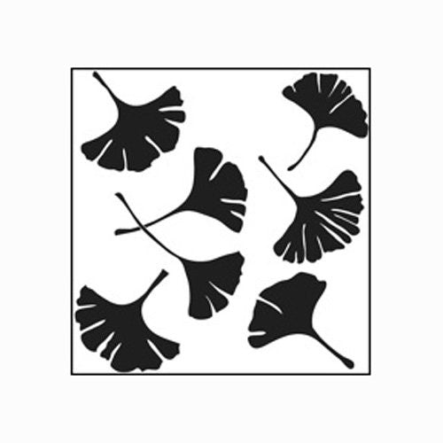 Mini Template Ginkgo Leaves