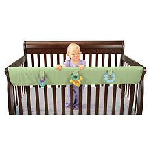 Leachco Easy Teether XL - Crib Rail Cover For Convertible Cribs - Sage
