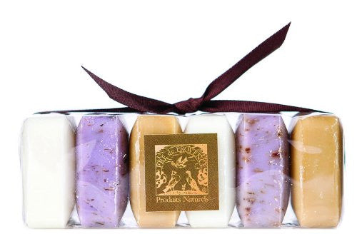 Shea Butter Enriched Luxury Soap Gift Pack - Milk, Lavender, Verbena (6 x 25g)