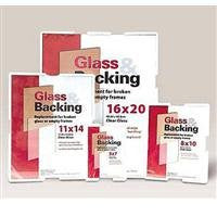 Glass And Backing Kit: Clear, 8x10