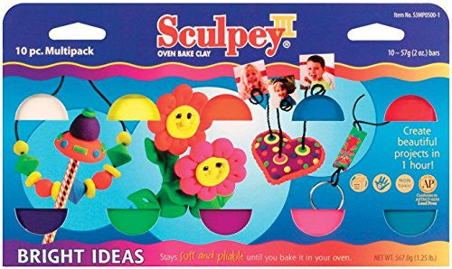 Sculpey III Multi-Pak Bright Ideas