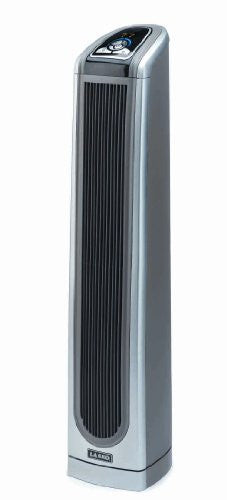 "34"" Electronic Ceramic Tower Heater with Logic Center Remote"