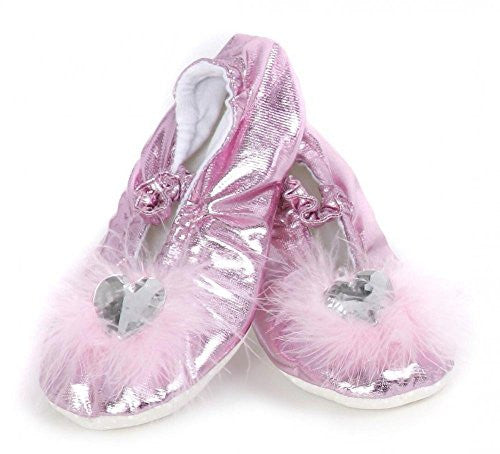 Princess Slippers, Pink, S