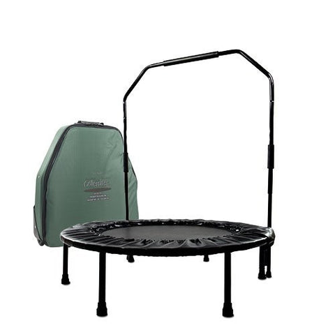Cellerciser Folding Rebounder With Stabalizing Bar