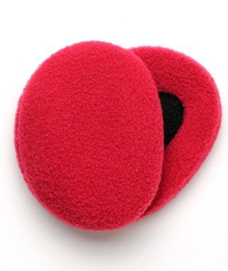 Earbags Fleece with Thinsulate Red, Small