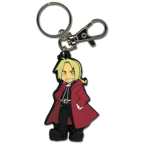 FMA Brotherhood Ed SD PVC Keychain