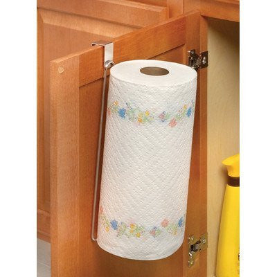 Contempo Over the Cabinet/Drawer Vertical Paper Towel Holder - Chrome