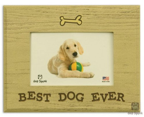 "Best Dog Ever - 7"" x 9"" Picture Frame"