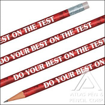 Foil Do Your Best On The Test Pencils