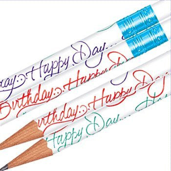 Tub Happy Days (Birthdays) Pencils