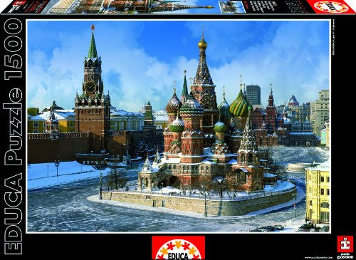 1500 Puzzle Saint Basil Cathedral, Moscow