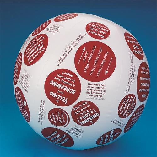 Toss 'n Talk-About Anger Management Ball, 24-Inch